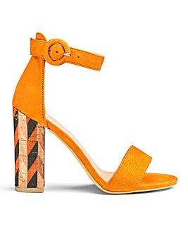 Glamorous Block Heel Standard Fit