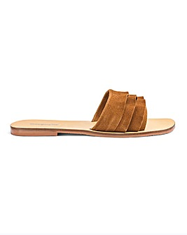 Sophia Leather Sandals Wide Fit