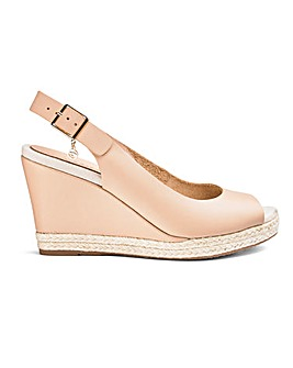 Dune Klicks Wedge Wide Fit