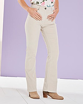 Cord Bootcut Trousers Regular