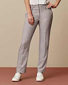Paperbag Waist Tapered Trousers Reg