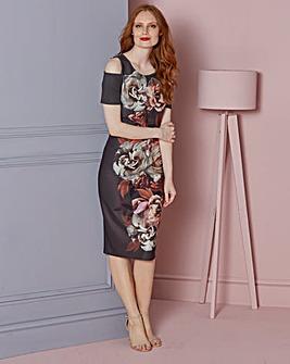 Floral Print Bodycon Dress