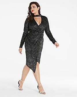 Simply Be by Night Choker Dress