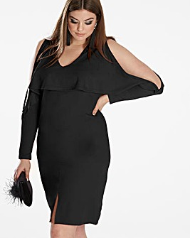 Simply Be By Night Plunge Dress