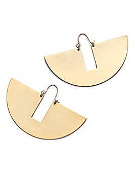 JDW Concept Semi Circle Earrings