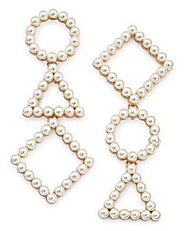 Mismatch Pearl Earrings