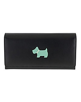 Radley Black Large Flap Purse