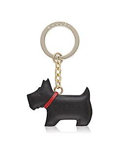 Radley Black Dog Keyring