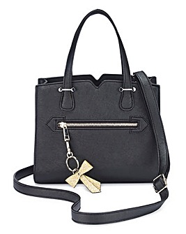 Mini Structured Tote with Bow
