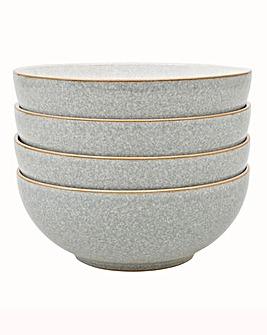 Denby Elements set of 4 Cereal Bowls