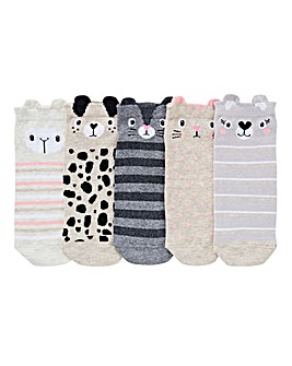 5 Pack Animal Trainer Liner Socks