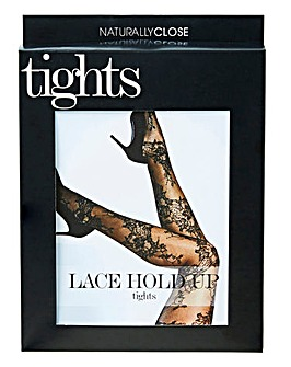 Lace Hold Up Tights