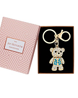 Jon Richard Crystal Bear Keyring