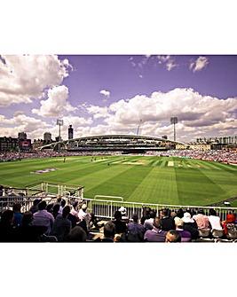 Kia Oval Tour, Match Ticket & Tea