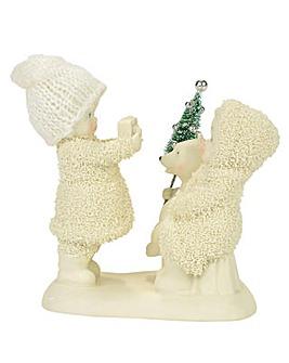 Snowbabies Say Cheese