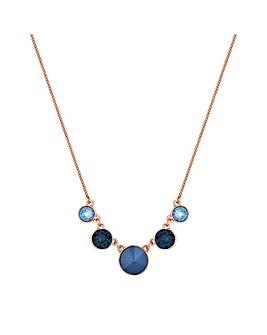 Jon Richard Swarovski Circle Necklace