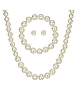 Mood Cream Pearl Jewellery Set