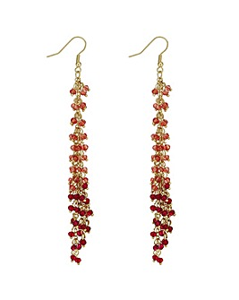 Mood Beaded Multi Strand Earring