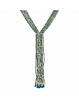 Mood Beaded Lariat Necklace