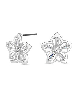 Jon Richard Open Flower Earring