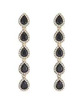 Mood Multi Crystal Peardrop Earring