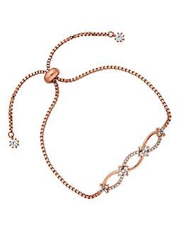 Jon Richard Eternity Toggle Bracelet
