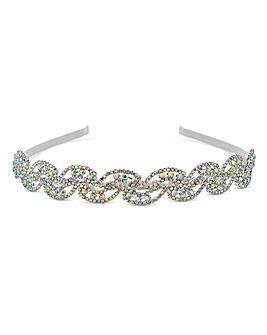 Mood Aurora Borealis Crystal Headband