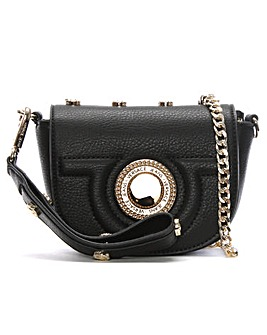 Versace Jeans Studded Mini CrossBody Bag