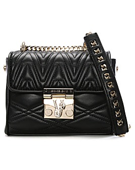 Versace Jeans Quilted Cross-Body Bag