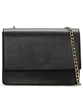 Daniel Milla Leather Chain Shoulder Bag