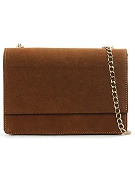 Daniel Milla Suede Chain Shoulder Bag
