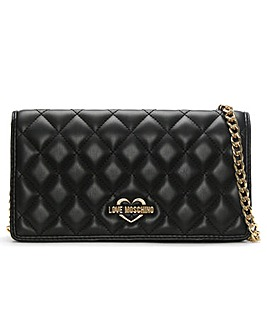 Love Moschino Quilted Small Cross-Body