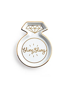 Rosanna Bling Bling Ring Shape Tray