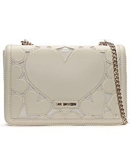 Love Moschino Large Heart Cross-Body Bag