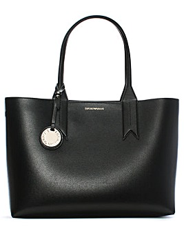 Emporio Armani Frida Textured Shopper