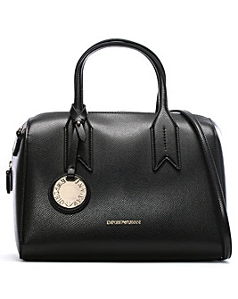 Emporio Armani Frida Textured Bowler Bag