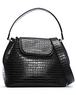 Emporio Armani Rita Reptile Shoulder Bag