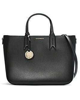 Emporio Armani Frida Textured Tote Bag