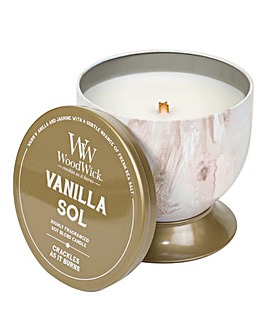 Woodwick Artisan Vanilla Sol Tin