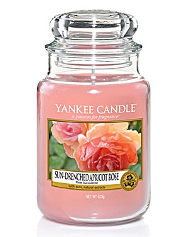 Yankee Candle Apricot Rose Large Jar