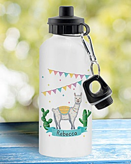 Personalise Llama Water Bottle