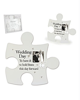 Perfect Wedding Day Jigsaw Piece
