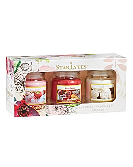 Starlytes Small Jar Candles Gift Set