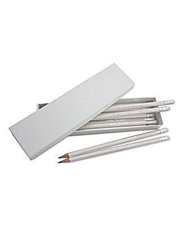Personalised Glitter Pencils In Box