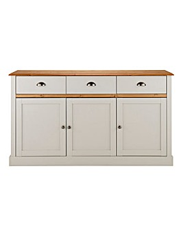 York 3 Door 3 Drawer Sideboard