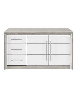 Figaro 2 Door 3 Drawer Sideboard