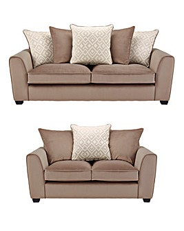 Aztec 3 Seater plus 2 Seater Sofa