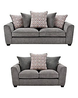 Zara 3 Seater plus 2 Seater Sofa