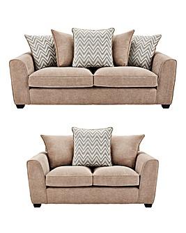 Zara 3 Seater plus 2 Seater Sofa