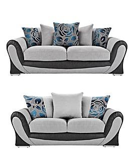 Sasha 3 plus 2 Seater Sofa